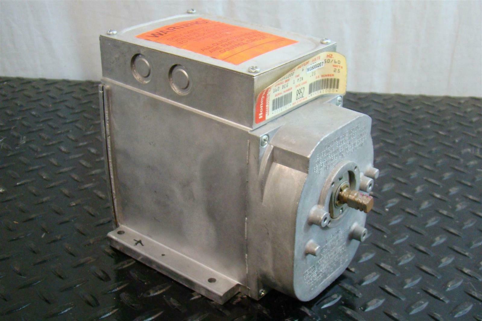 Honeywell Modutrol Motor 120v 25a 50 60hz 25w M445al000