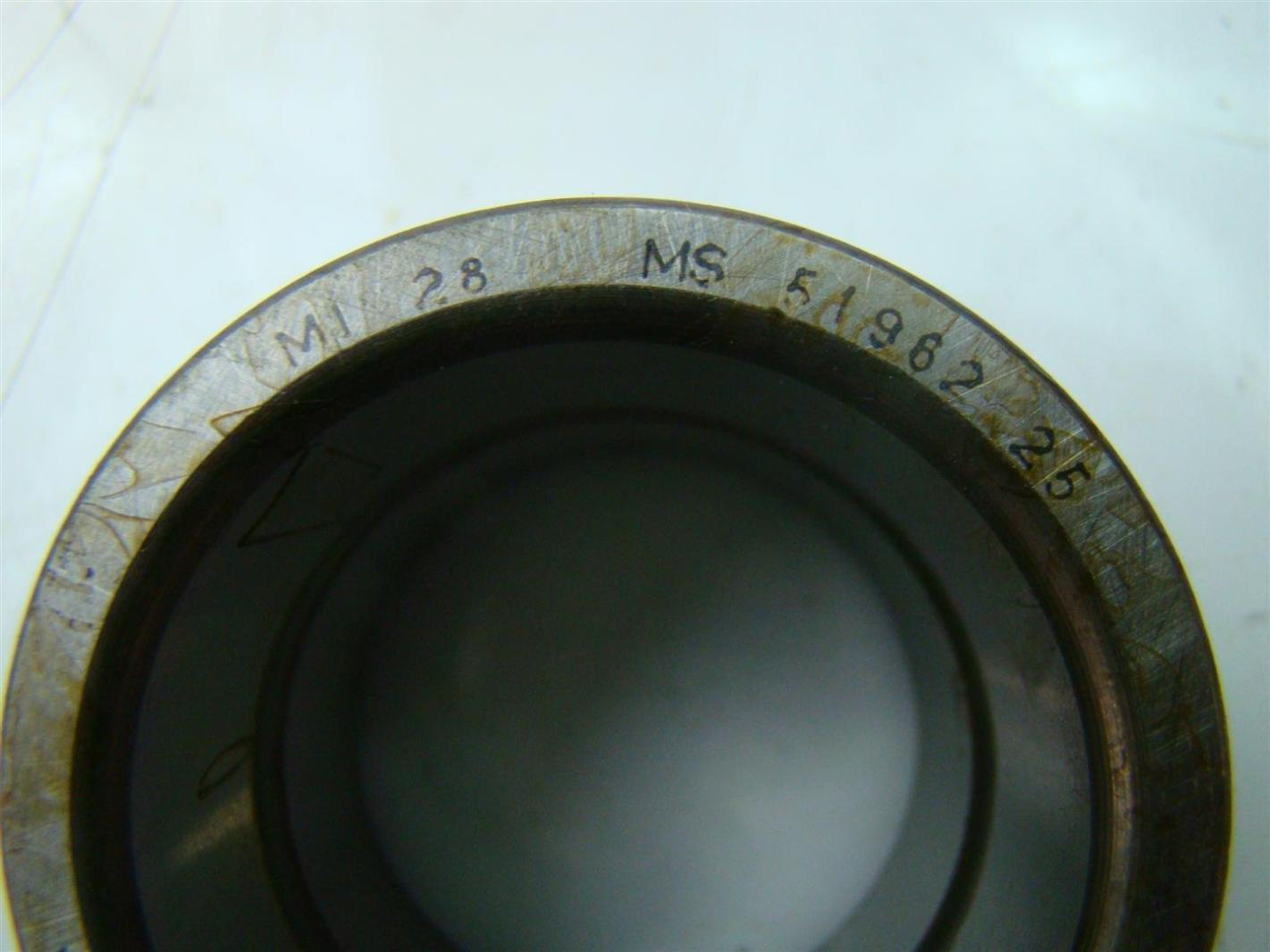 McGill Inner Race Precision Bearings MI28 MS51962 25