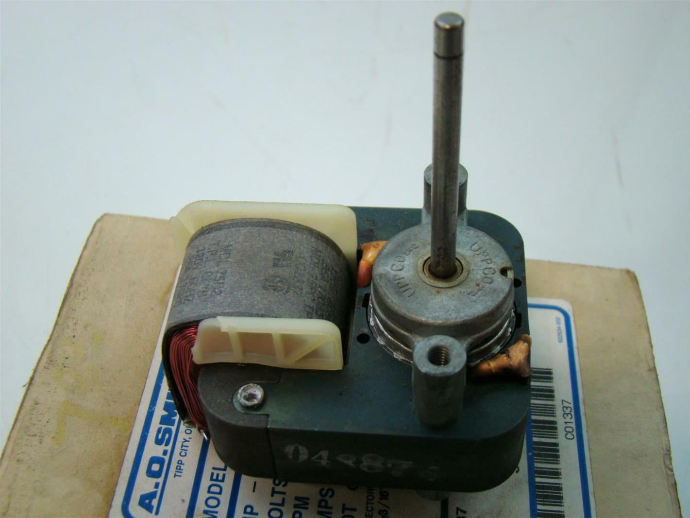 Ao Smith Motor 120v Rpm3000 86amps Single Phase 60hz He98
