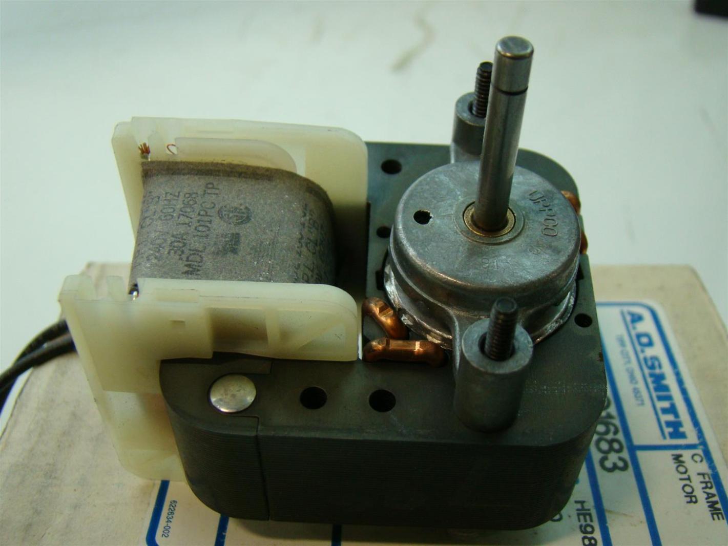 Ao Smith Motor 240v Rpm3000 30amps He98 Hz60 Single Phase