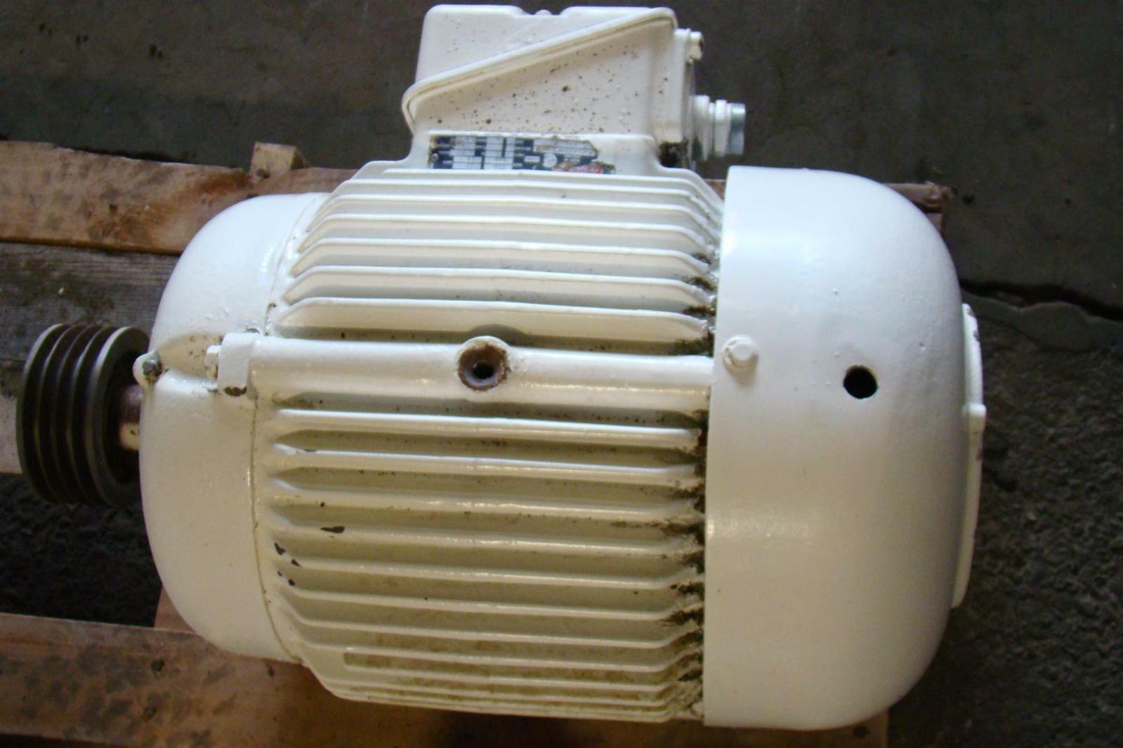 Newman Motor 15hp 230 460v 38 19amps 60hz J1306332 Ebay
