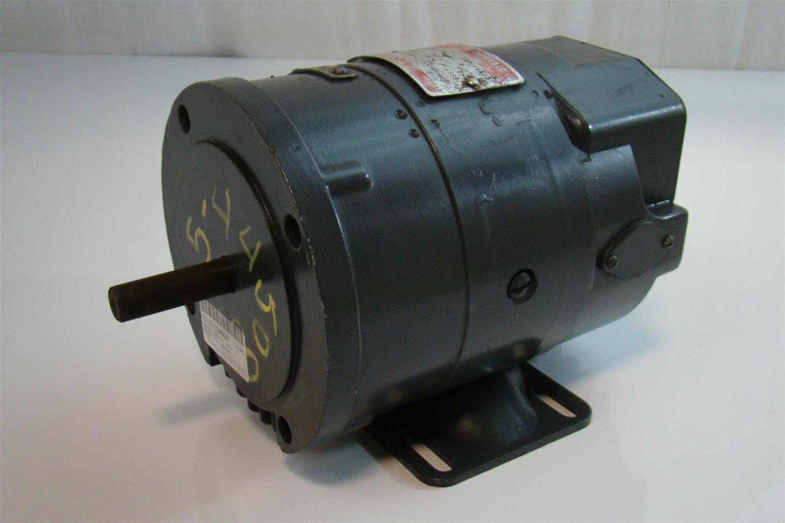 General Electric Dc Motor 1 8hp 1380 3450rpm 250v 7 A