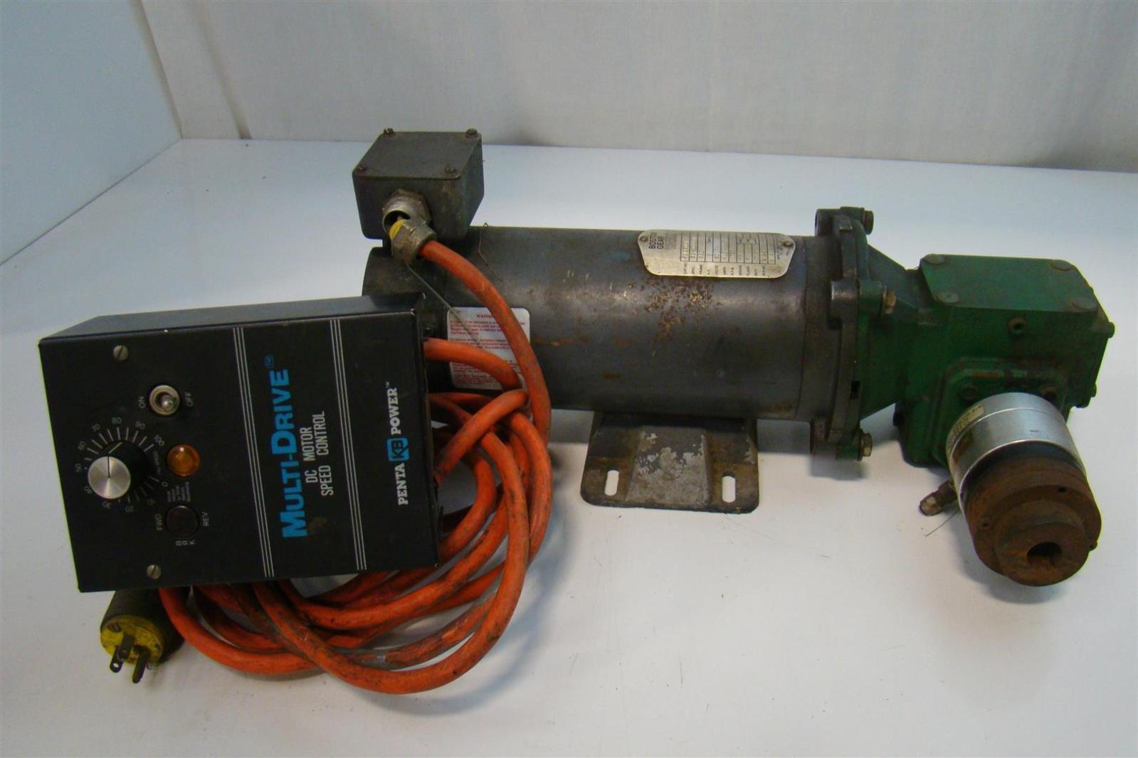 Boston gear speed control for Kbmd dc motor speed control