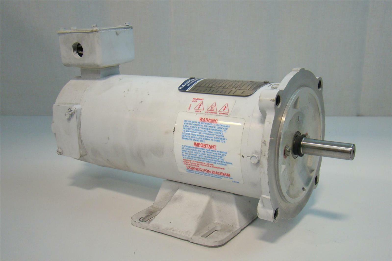 Baldor Reliacer Dc Motor 5hp 1750rpm 90v 2 Bp5011t01