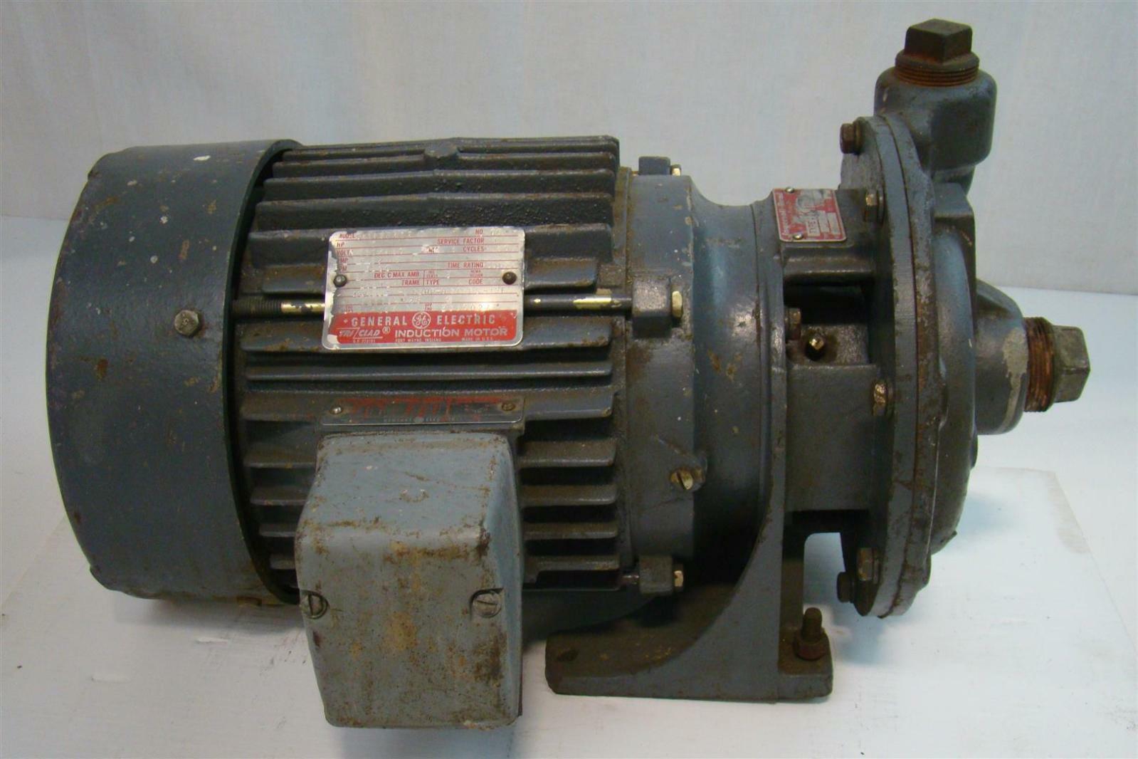 Ingersoll Rand Type K Pump 1 1 4 K 3 0767 5430 Ge 3 Hp 230