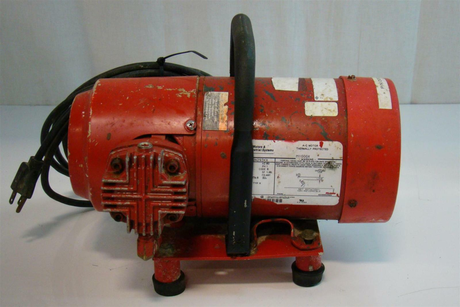 Ge Motors And Industrial System 1 6hp 115v 1ph 60hz
