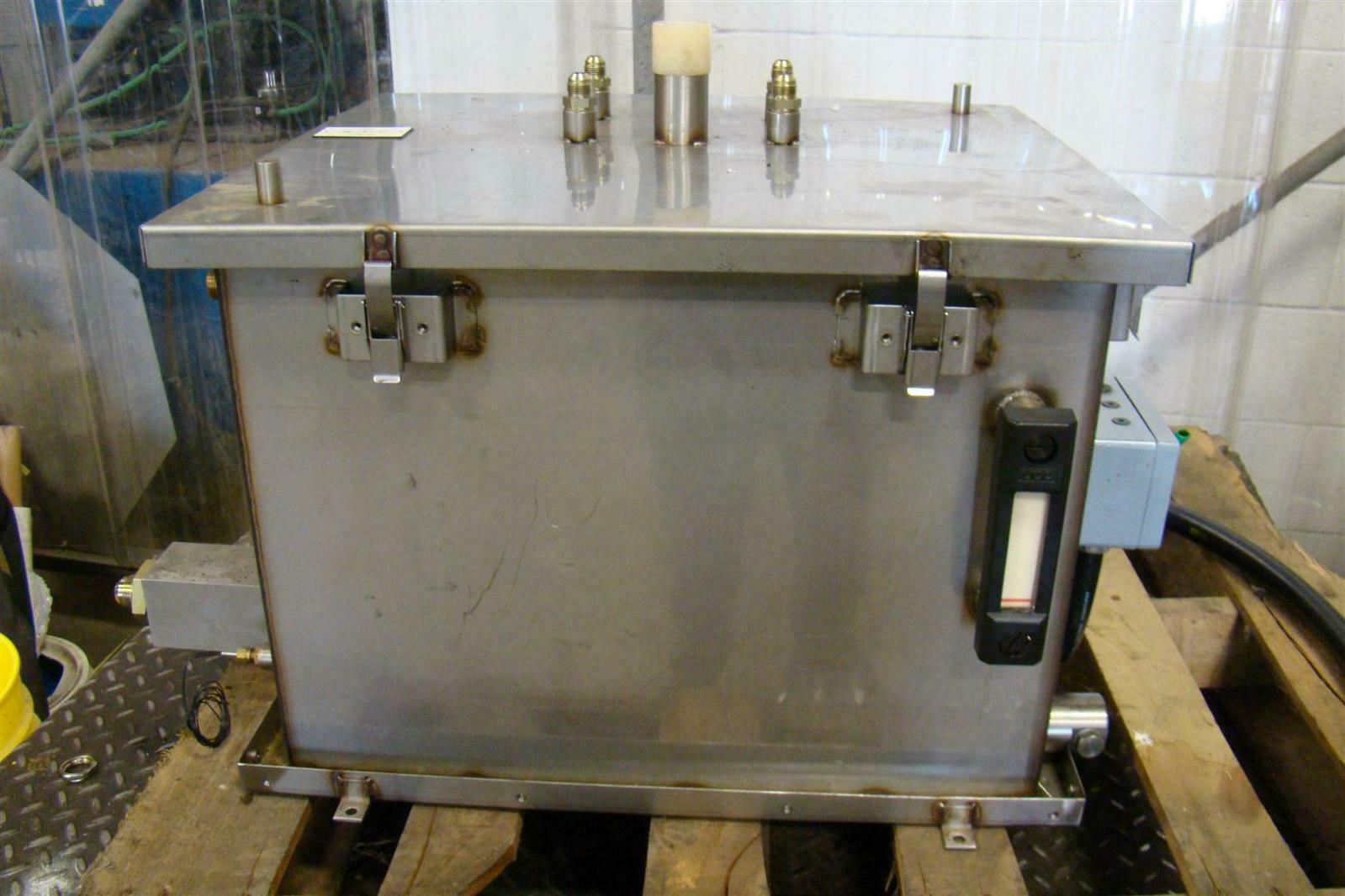 Stainless Hydraulic Tank Amp Heat Exchanger Ebay