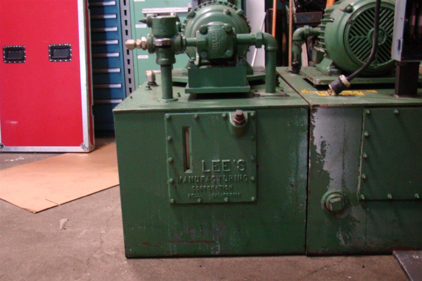 Hydraulic Pump Manufacturers : Lee s manufacturing hydraulic pump unit hp ph u