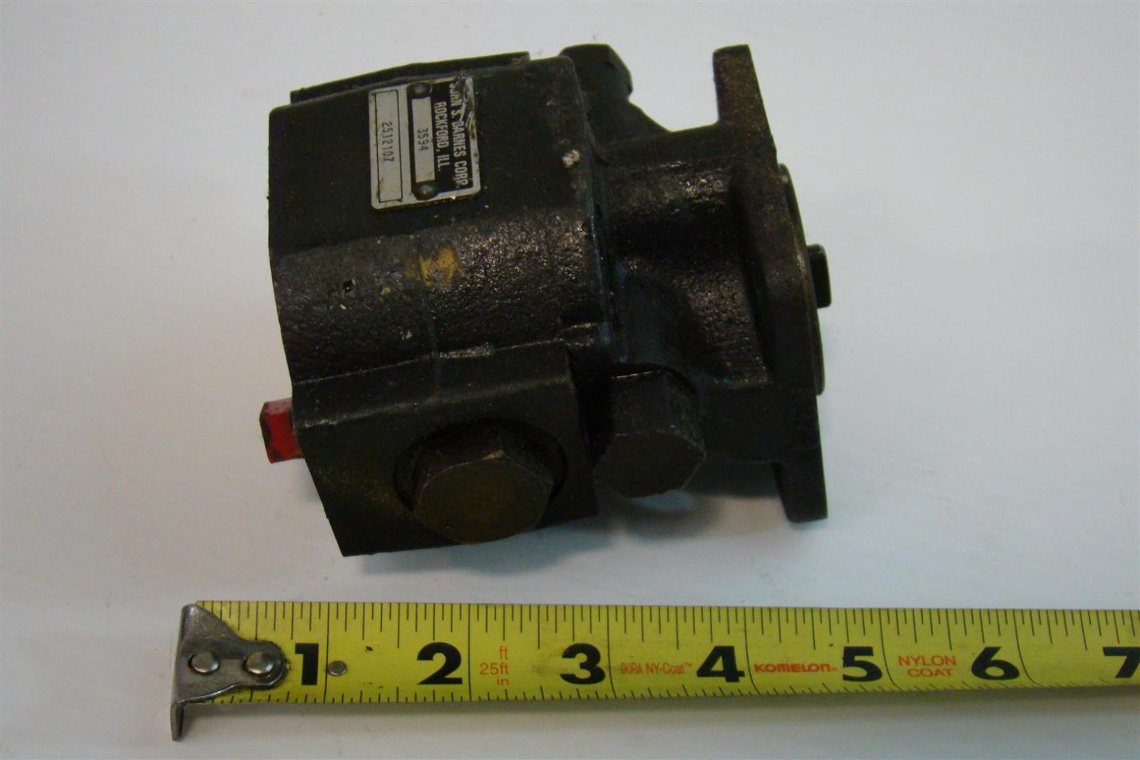 Hydraulic Pump John S Barnes Parts Waltco Wiring Diagram Photos