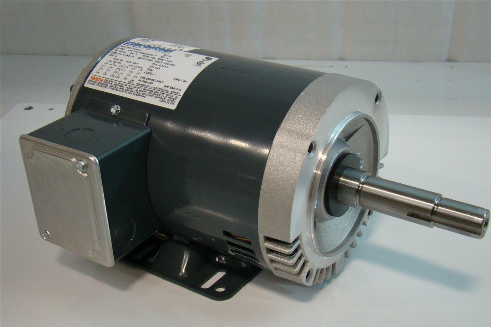 Marathon electric 3ph hp3 motor rpm3490 230 460v m09047 for Marathon electric motors model numbers