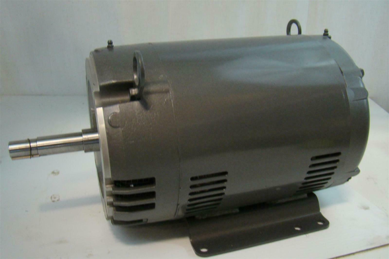 Baldor reliancer electric motor 10hp 220 380v 3450rpm for Baldor industrial motor parts