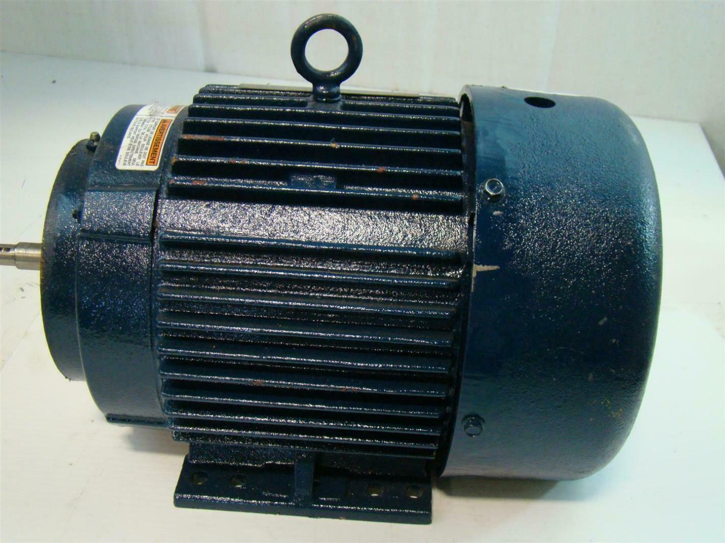 Marathon electric motor 5hp 3475rpm 460v 3ph for 5hp 3ph electric motor
