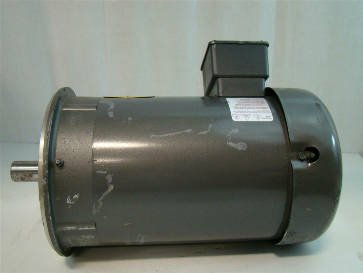 baldor reliance electric motor 5hp 380v 3450rpm 60hz 3ph