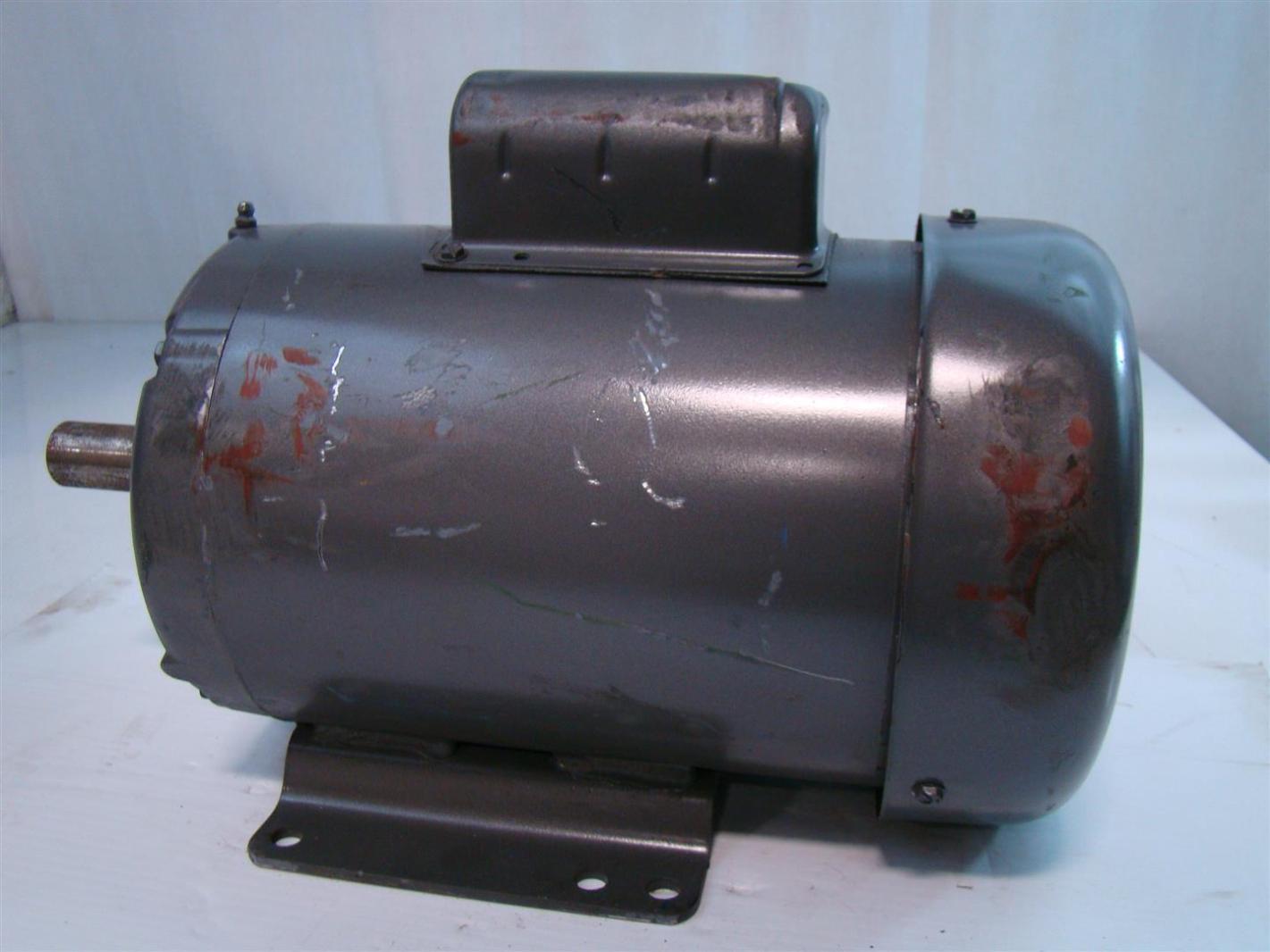 Baldor reliance industrial motor 2hp 115 230v 23 11 5amps Baldor industrial motor pump