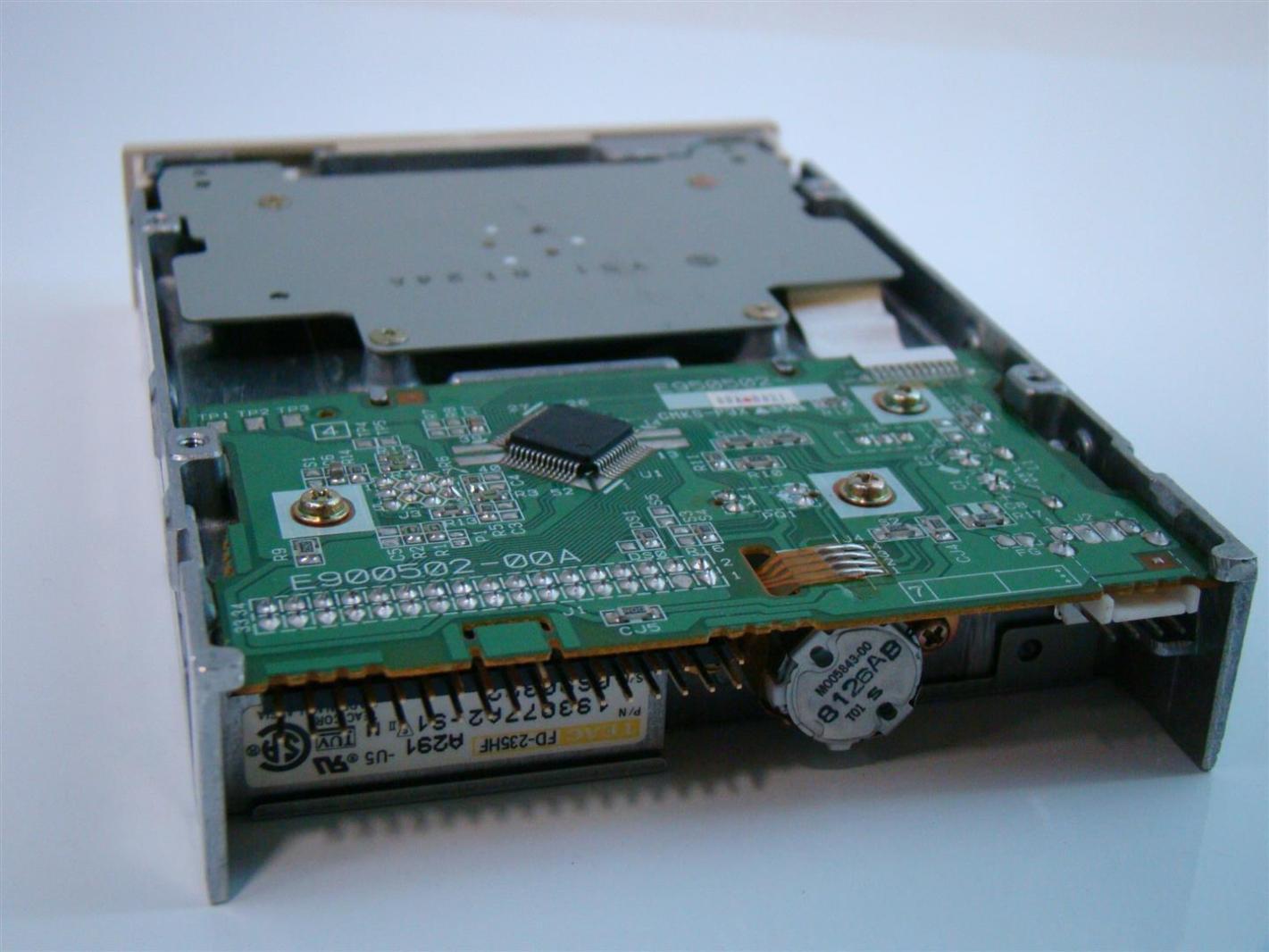 Driver for TEAC UF000X USB Floppy Driver / Windows 7