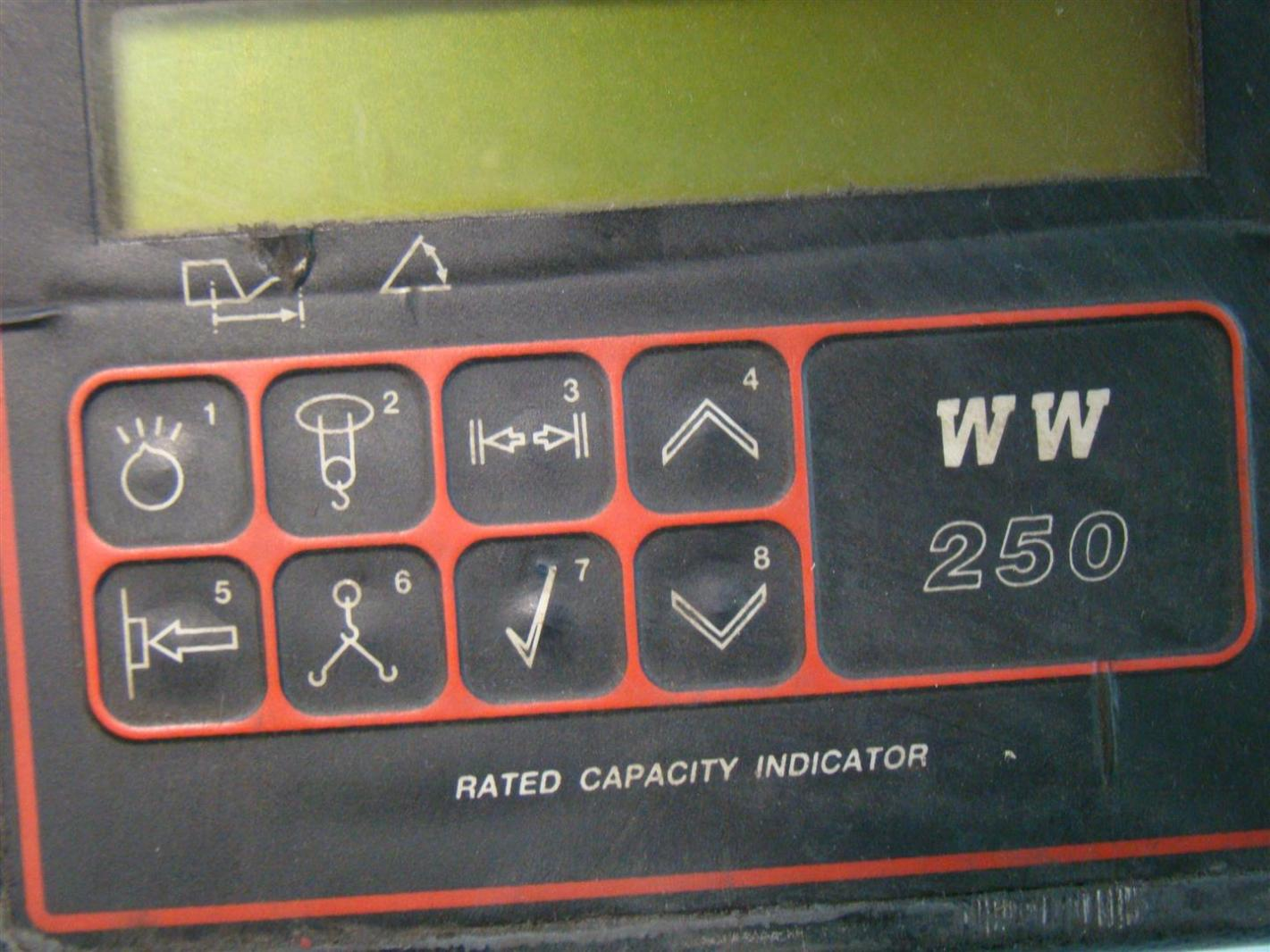 Safe Load Indicator Systems : Wylie ww crane safe load indicator d ebay
