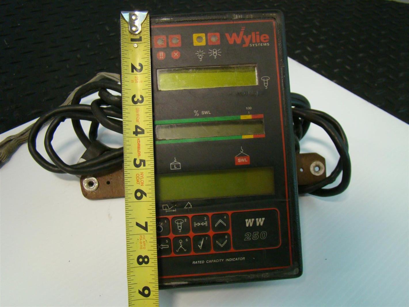 Hoist Load Indicator : Wylie ww crane safe load indicator d ebay
