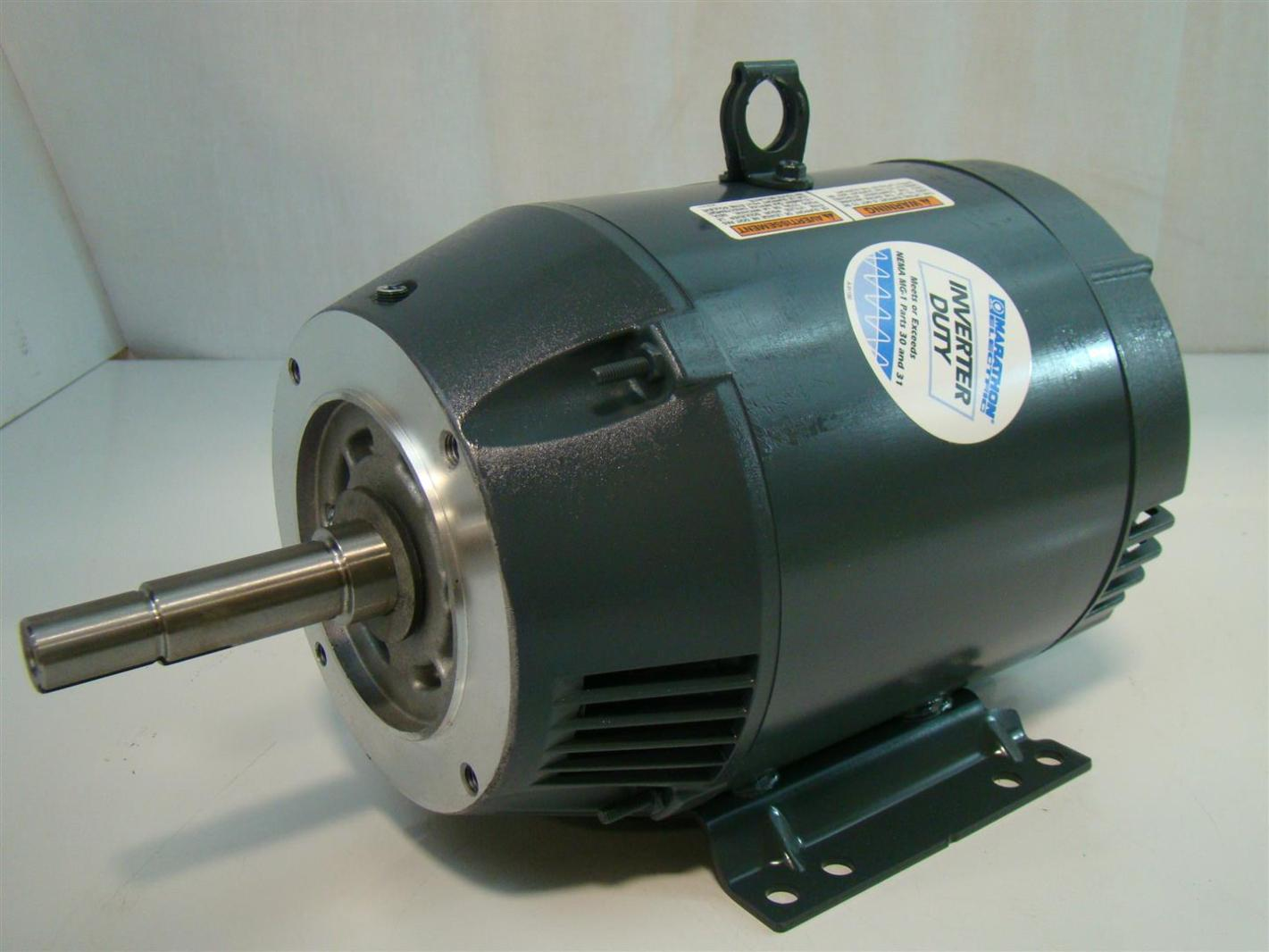 marathon electric inverter duty 7 1 2hp electric motor