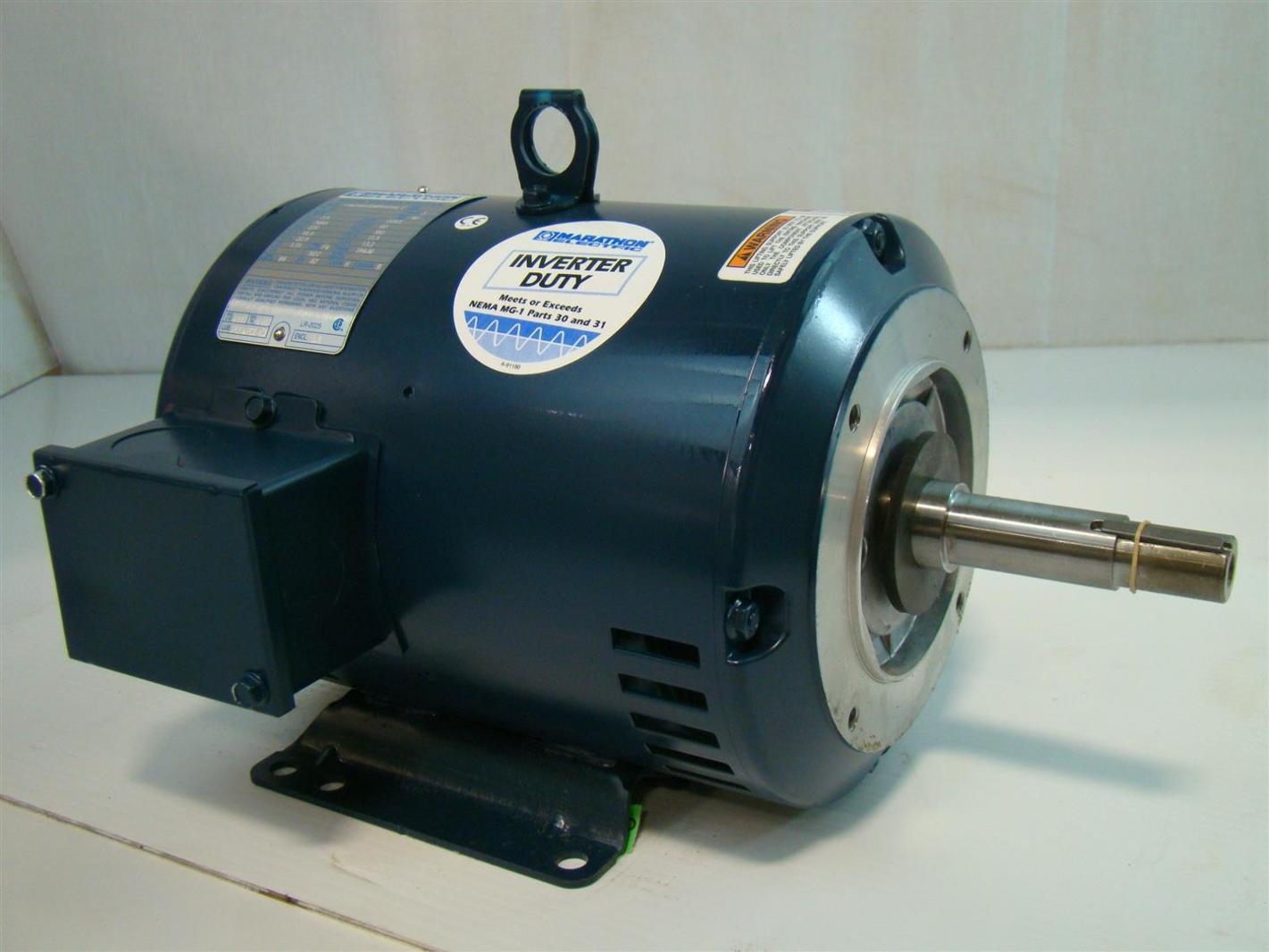 Marathon Electric Inverter Duty Electric Motor