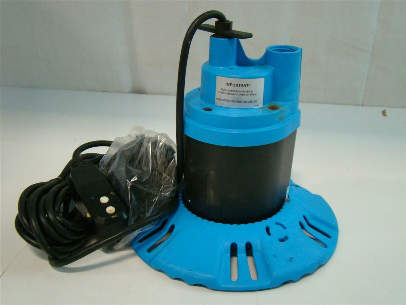 flotec submersible pool spa cover pump 115v 8 5amps 1 4hp 25 39 fp0s1790pca ebay