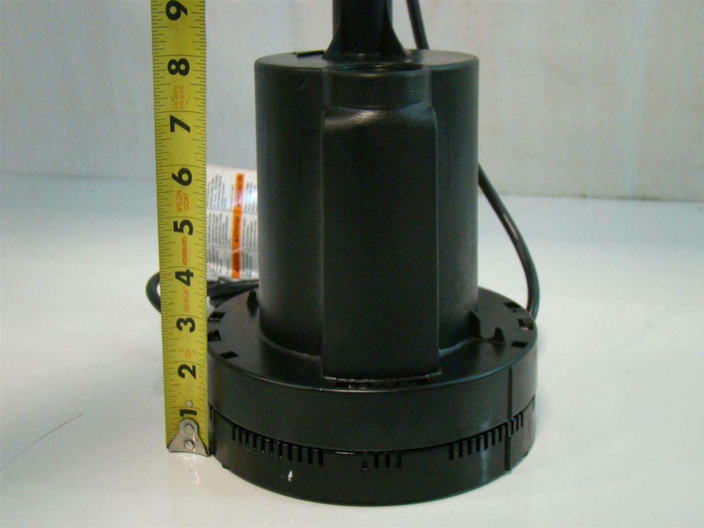 Simer Submersible Utility Pump 115v 6 0a 1 4hp 2305 04 Ebay