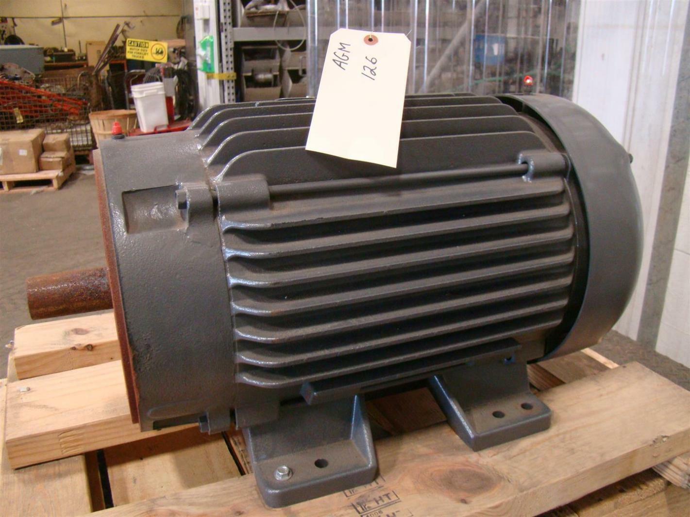 Baldor standard e 15 20hp electric motor 380 460v 42 for Motor baldor 20 hp