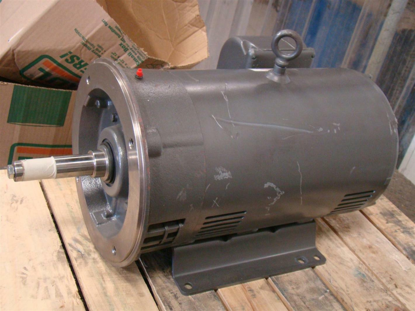Baldor reliancer industrial motor 40hp 220 380v 3500rpm 95 for Baldor industrial motor parts