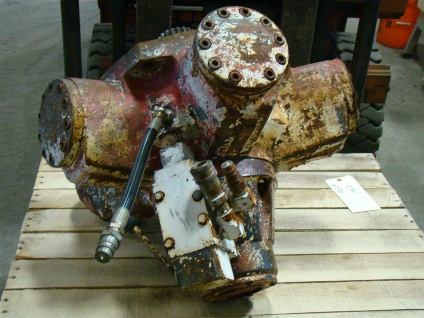 Staffa Radial Piston Hydraulic Motor S53502 Ebay