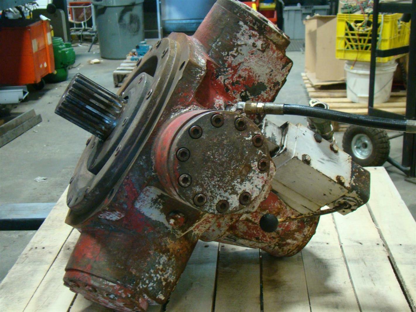 Staffa Radial Piston Hydraulic Motor S53502 Joseph