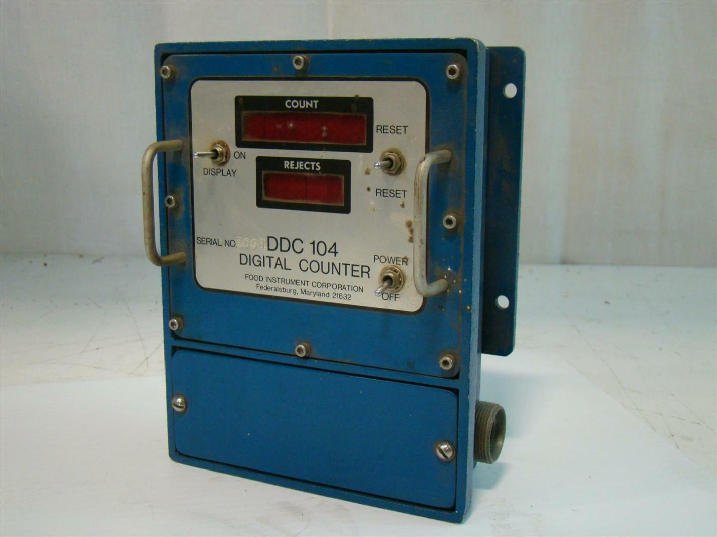 Food instrument corporation digital counter 10g1 ddc104 for Cuisine instrument