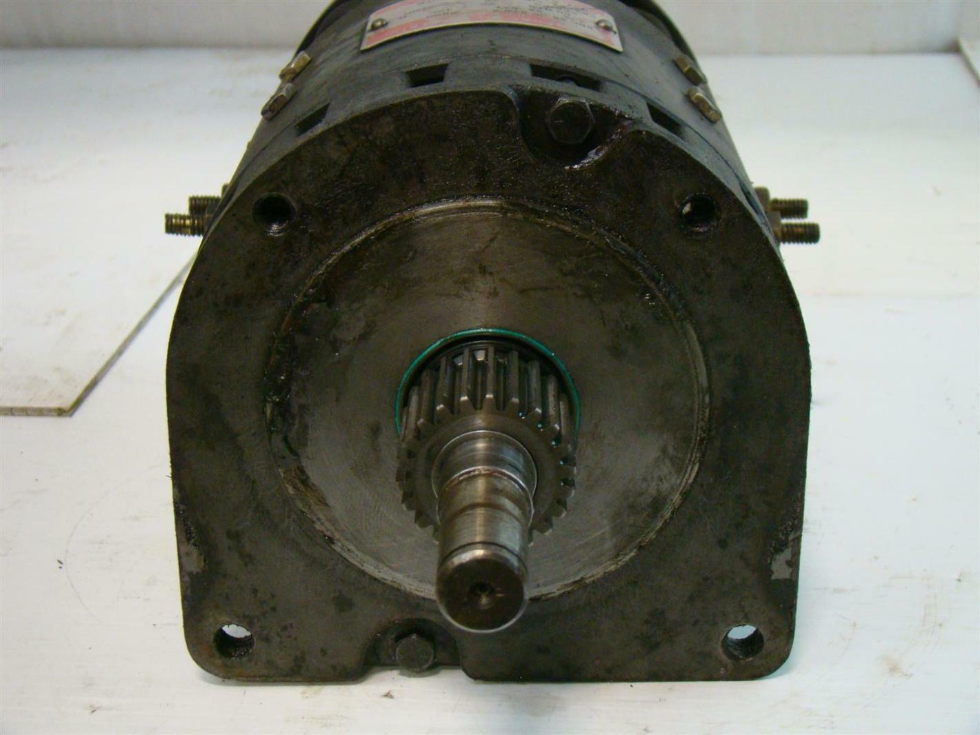 General Electric 2620rpm 2 3 4hp 5bc 48 Jb 676a Drive