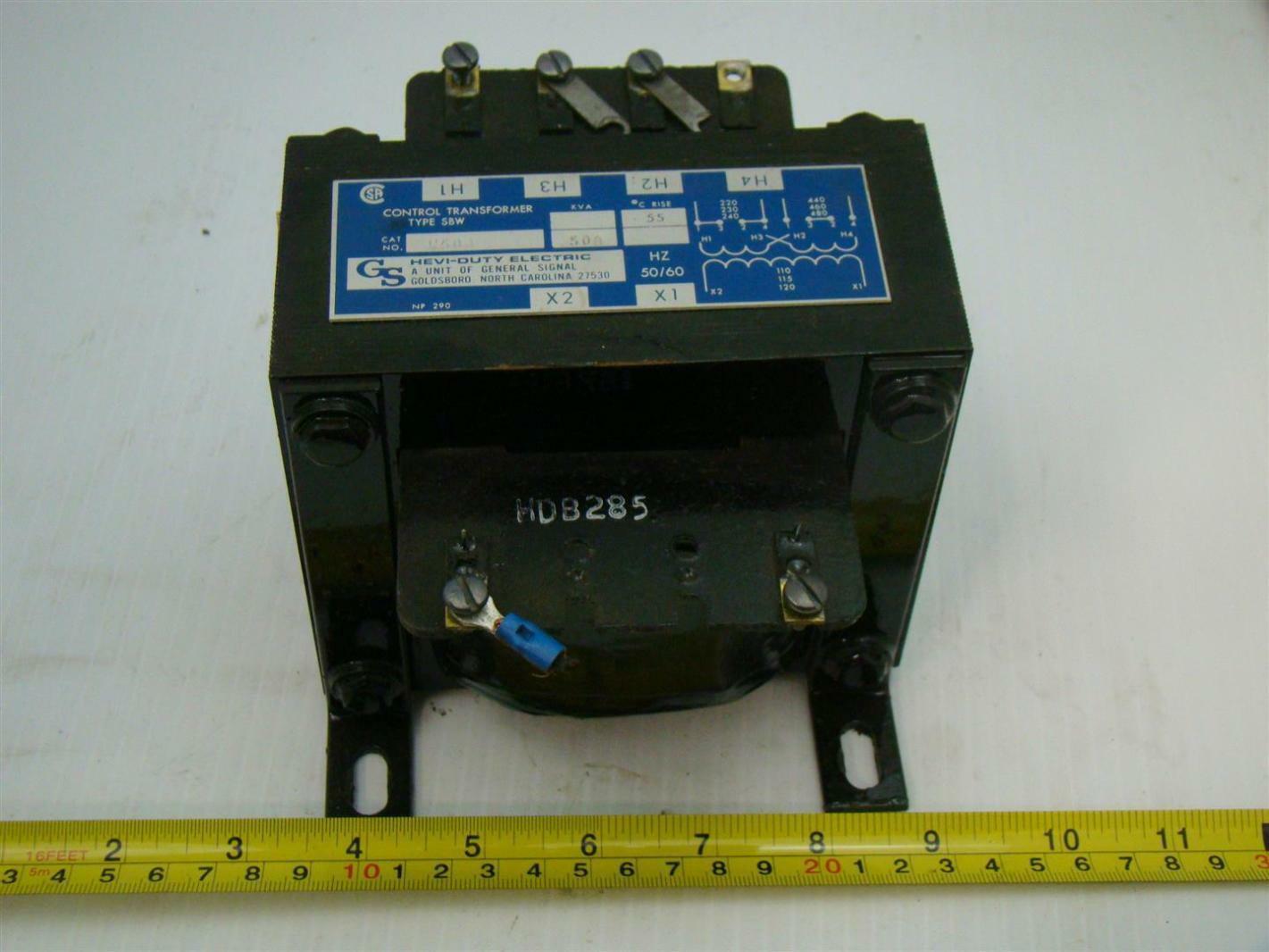 Hevi Duty Electric Transformer 500kva 220 440v W500 Ebay