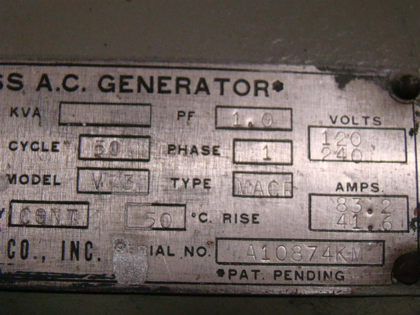 lima generator wiring diagram lima image wiring condec lima brushless ac generator 10kw 1500rpm ph1 120 240volts on lima generator wiring diagram