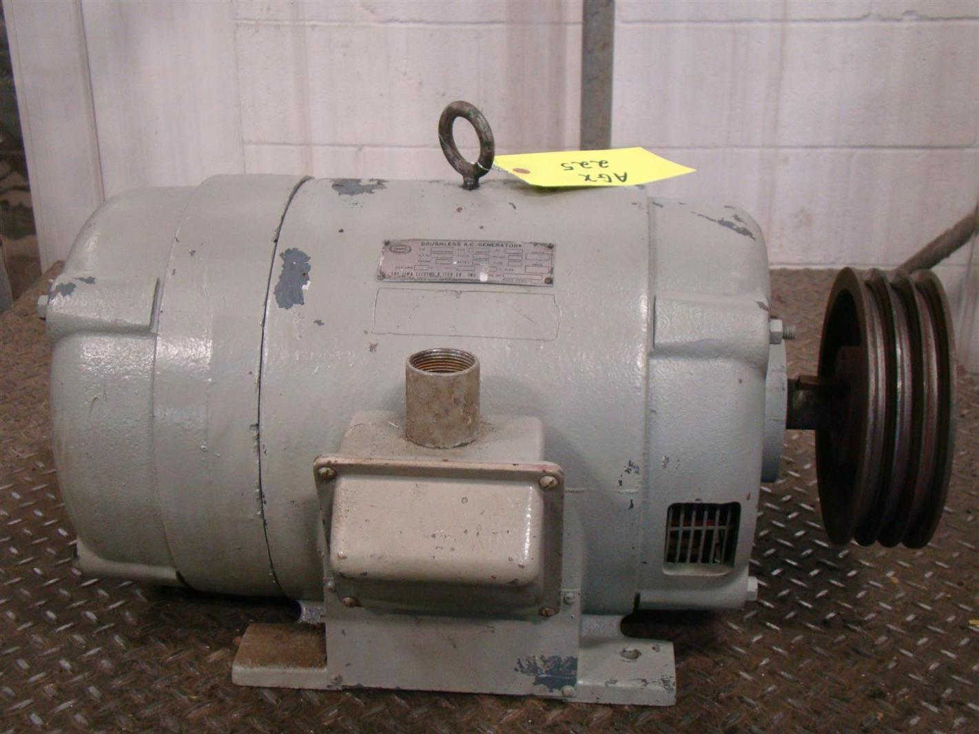 Condec Lima Brushless Ac Generator 10kw 1500rpm Ph1 120