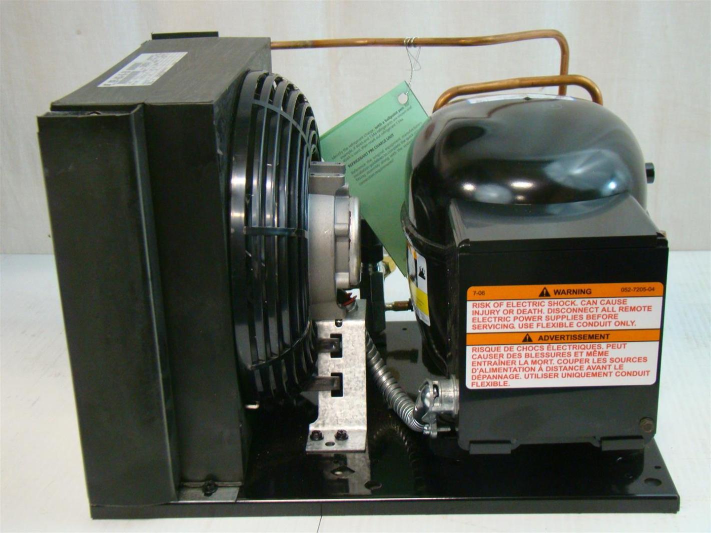 Copeland Hermetic Condensing Unit 240V 1/3HP M2FH A033 IAZ 308  #C36408