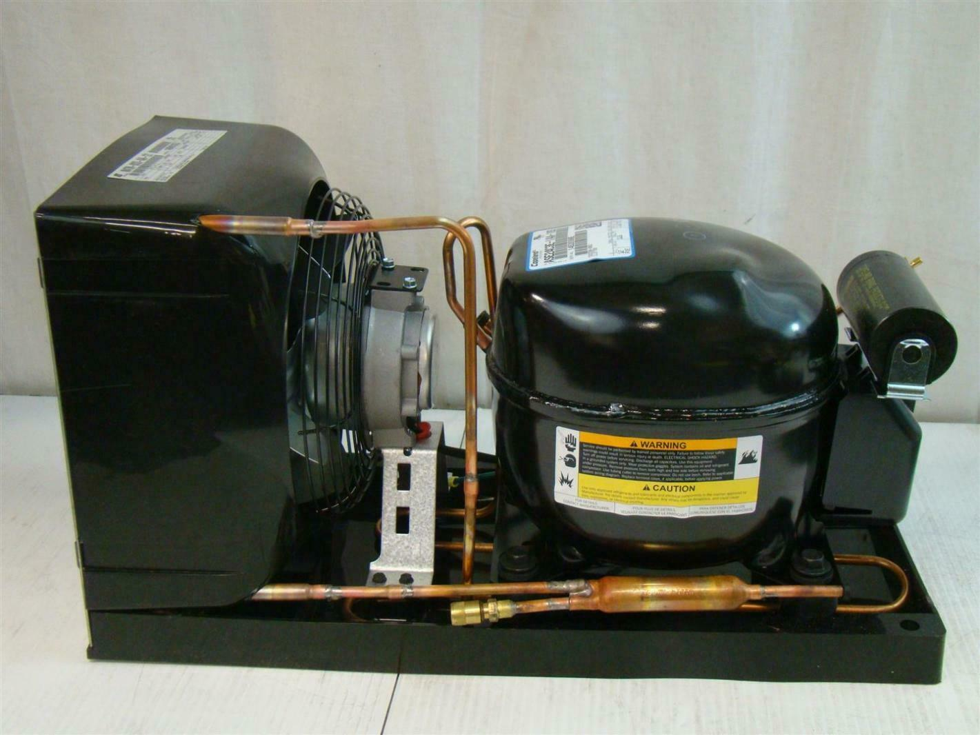 Details about Copeland Hermetic Condensing Unit 1/3HP 115v M4TM 0033  #A69625