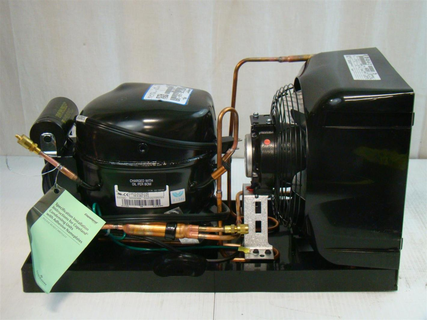 Details about Copeland Hermetic Condensing Unit 115V 1/3HP M2TH 0035  #694629