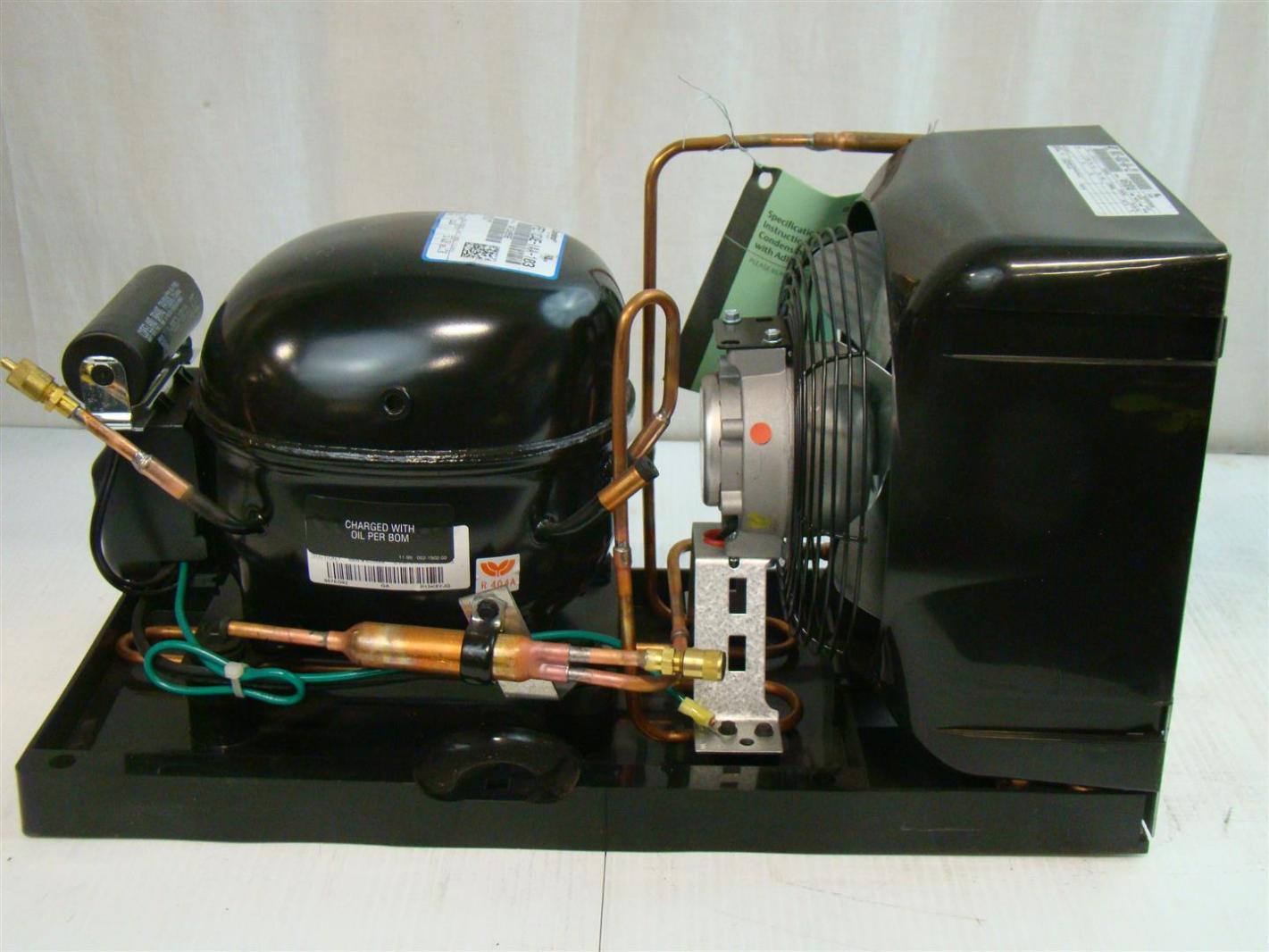 Copeland Hermetic Condensing Unit 1/3HP 115v M4TL H033 IAA 122  #684628