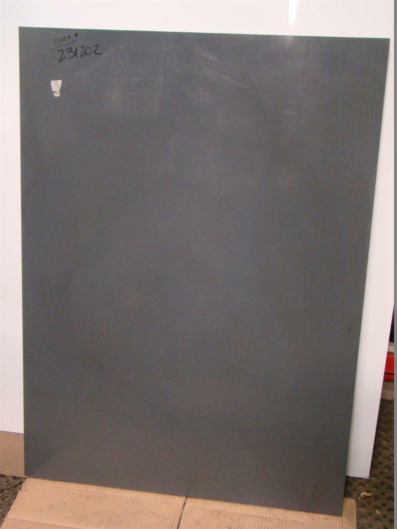 Vycom 1 Quot Pvc Sheet Type I Gray 43 1 4 Quot X 31 1 2 Quot Polyvinyl