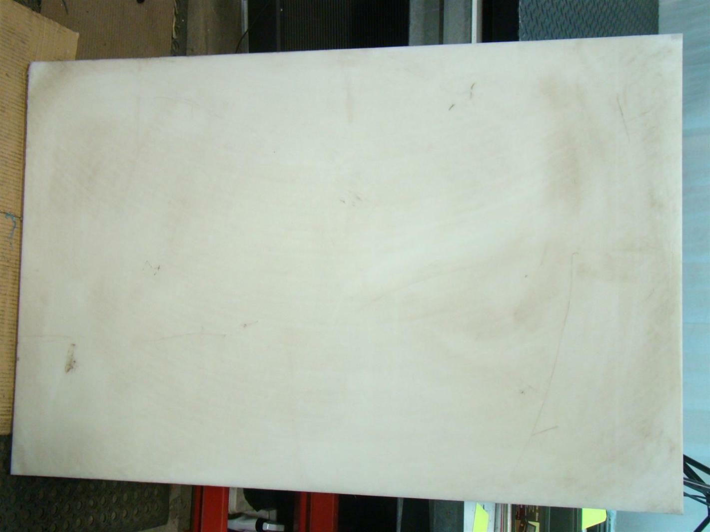 Sheet 1 3/4 thickness x31.625 x48.25 High density Polyeth  #5E3120