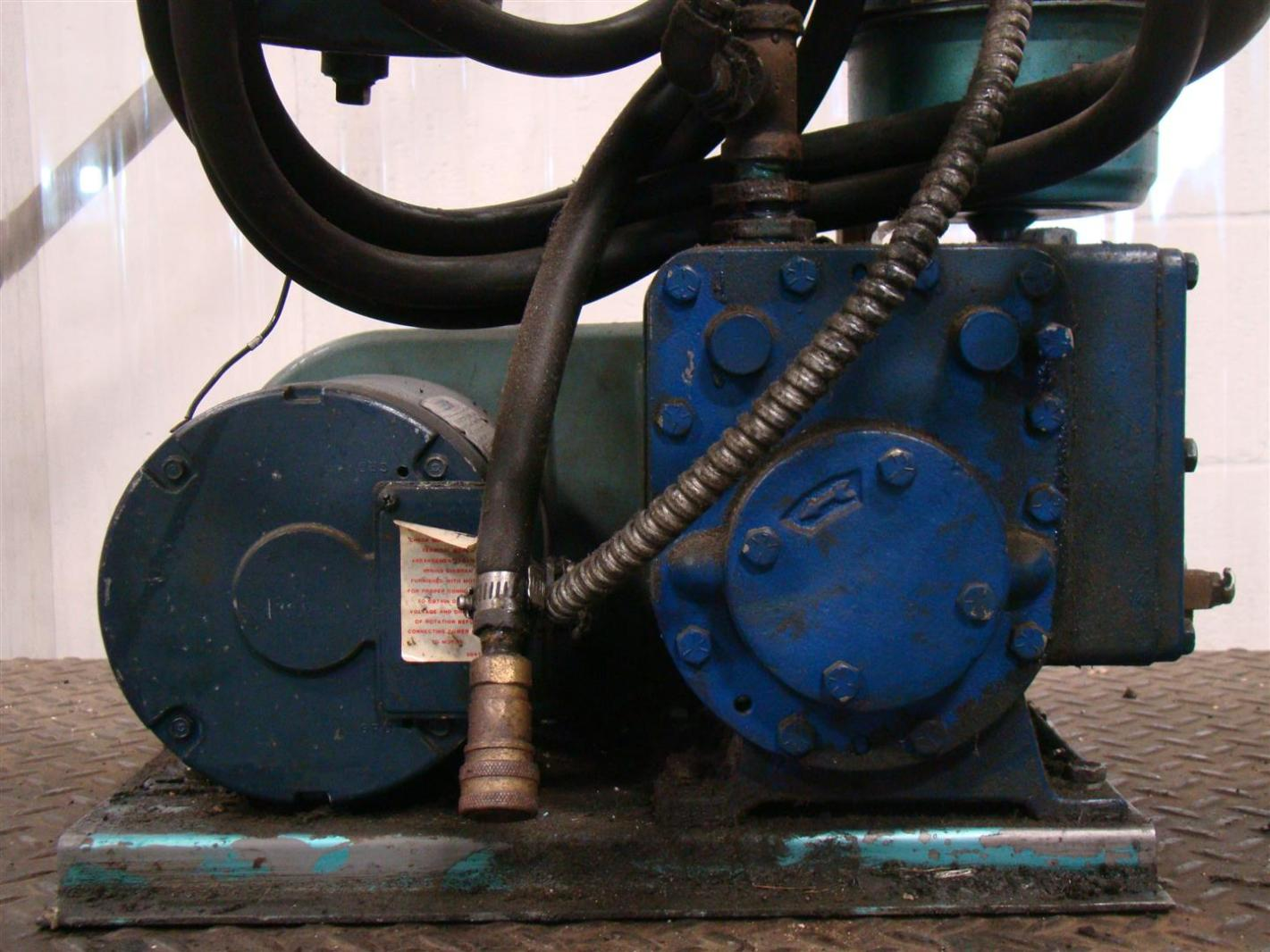 Tuthill Blower Systems : Tuthill vacuum system kinney kc  ebay