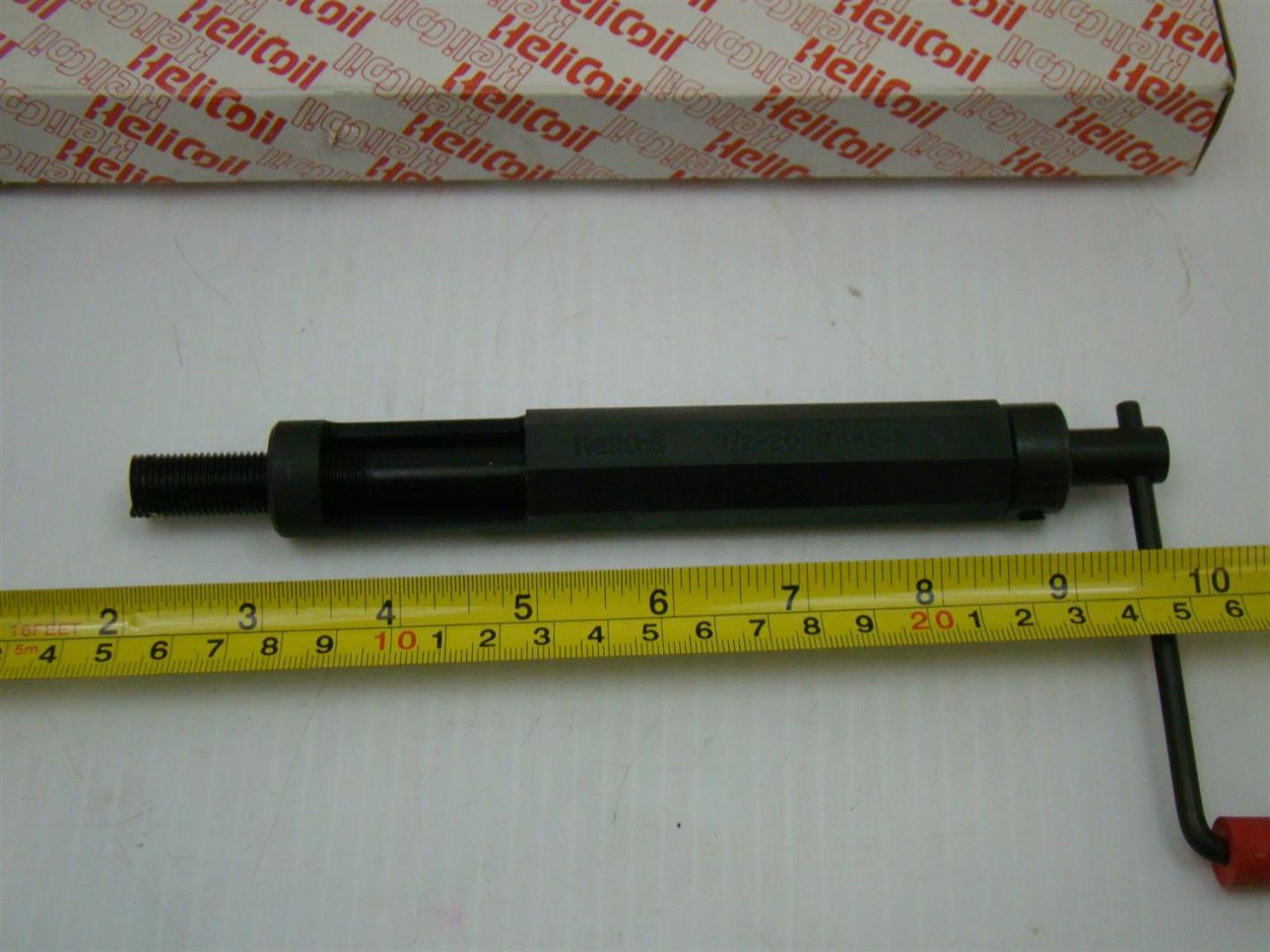 Helicoil Inserting Tool 1 2 20 7552 8 Joseph Fazzio