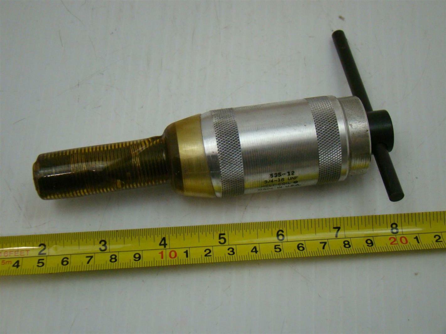 HeliCoil Screw Thread Repair Installation Tool 3/4-16UNF 535-12 ...