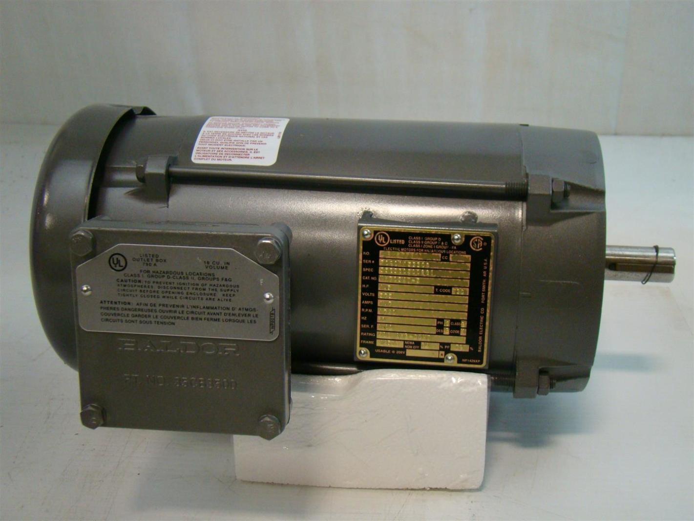 Hazardous location motor for Hazardous location motor starter
