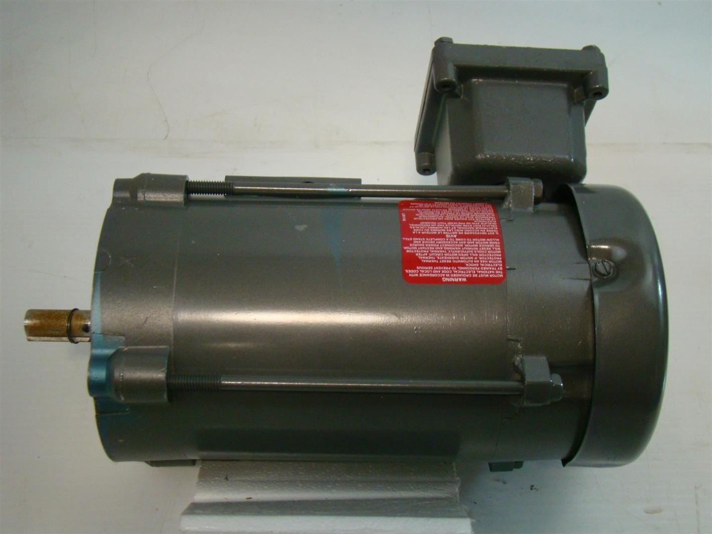 Baldor 1 3hp electric motor hazardous cl i 115 208 230v for Baldor electric motor parts
