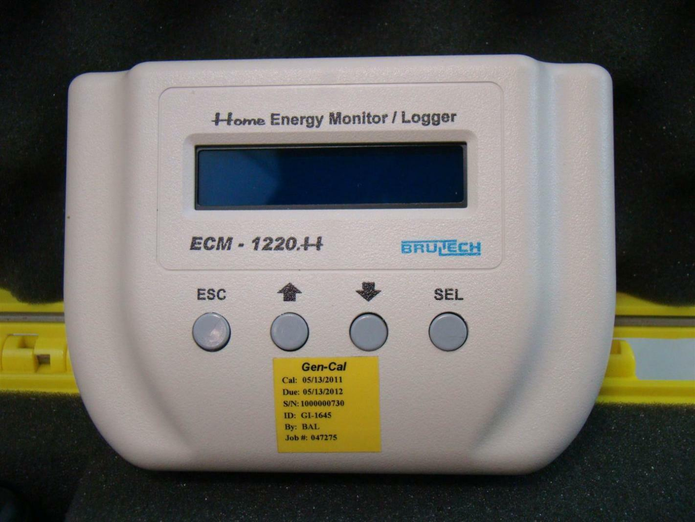 Home Energy Monitor : Brultech uk case home energy monitor logger ecm