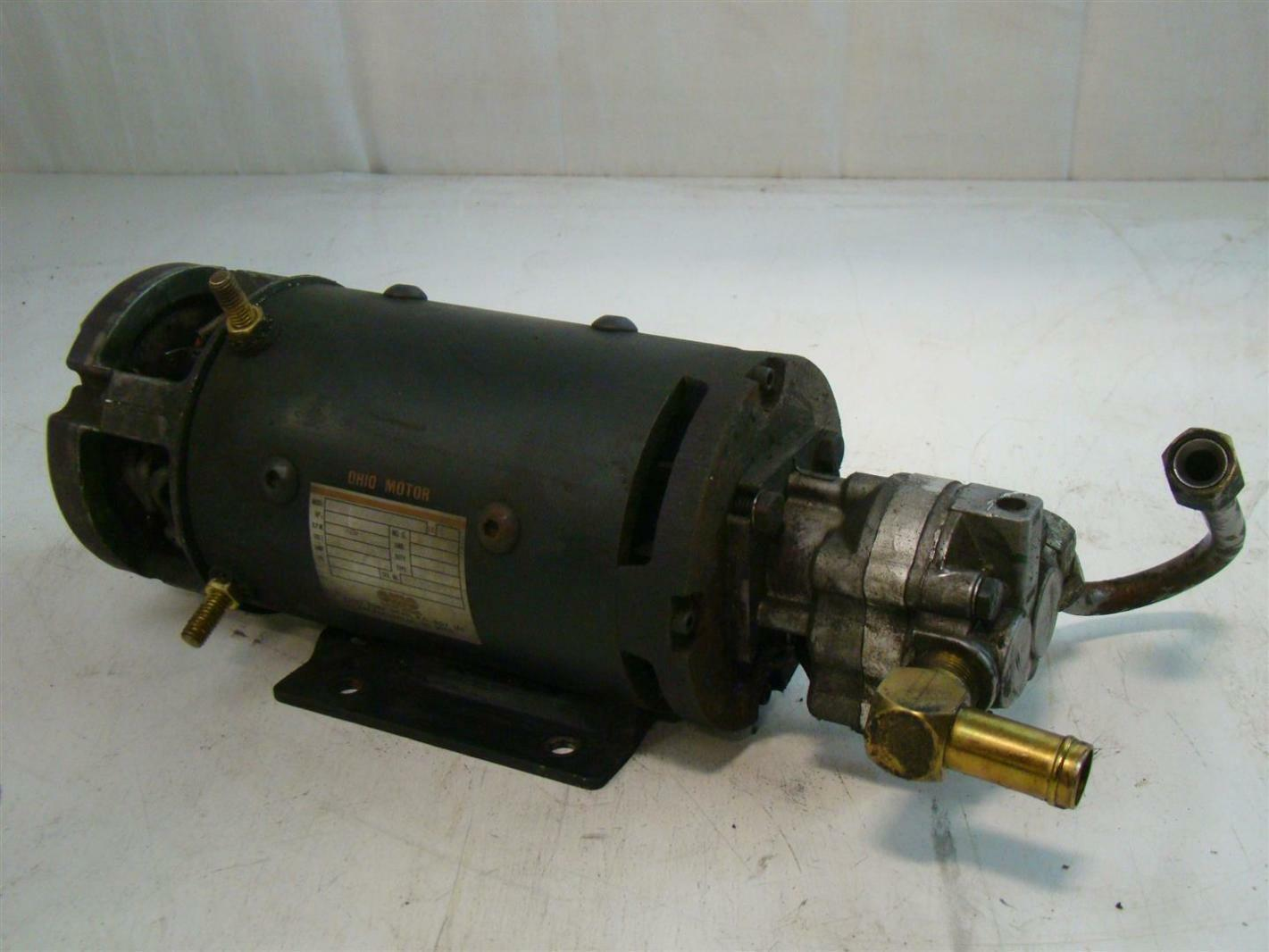 Ohio Electric Motors 0 468219xwf01a Hydraulic Pump For