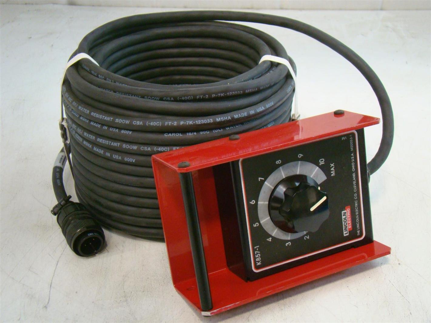 Lincoln Eletric Remote Control Kit  100ft  K857