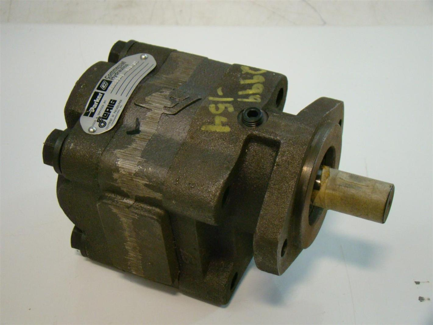 Florig parker hydraulic gear motor p988361 2999 0154 for Parker hydraulic pumps and motors
