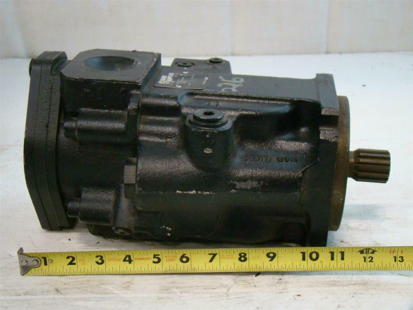 Sauer Danfoss Hydraulic Pump Nnnnn3s1b2a1naa Annnnnn A 02